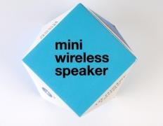 Bluetooth speaker package, white carton