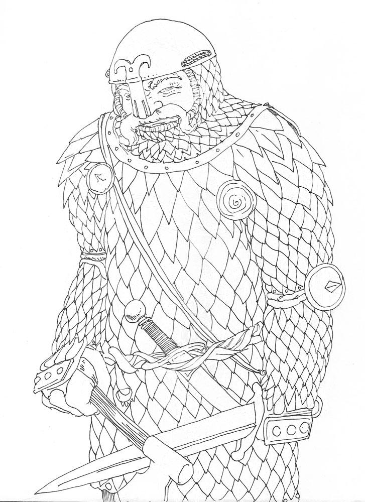 Sketching armor