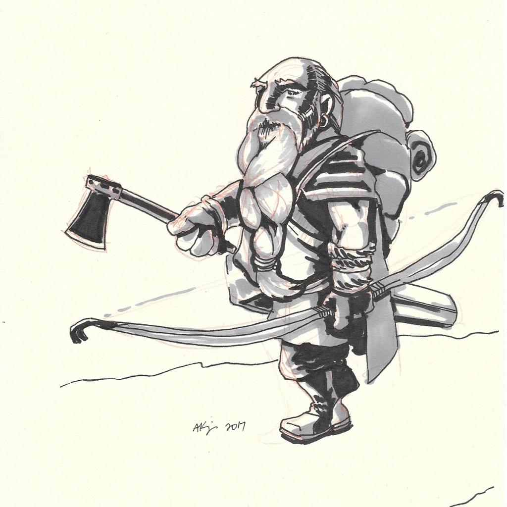 Dwarf Ranger 20170913