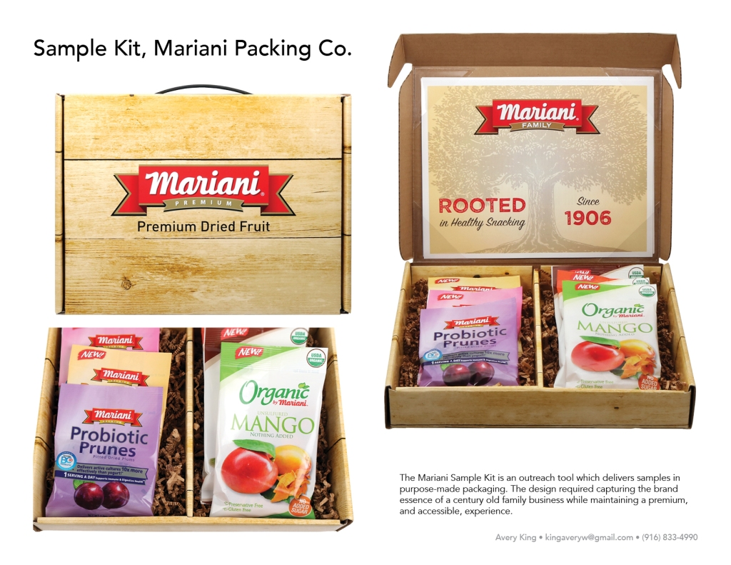 The Mariani Sample Kit is an outreach tool which delivers samples in purpose-made packaging. The design required capturing the brand essence of a century old family business while maintaining a premium, and accessible, experience.
